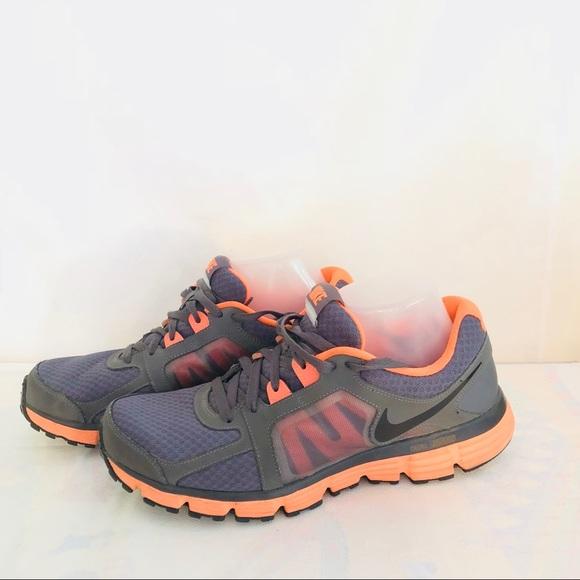 b4111c5f9bd6 Nike Dual Fusion ST2 Mens Running 10.5 Gray Orange.  M 5b05ab7ca825a65fa57e3395